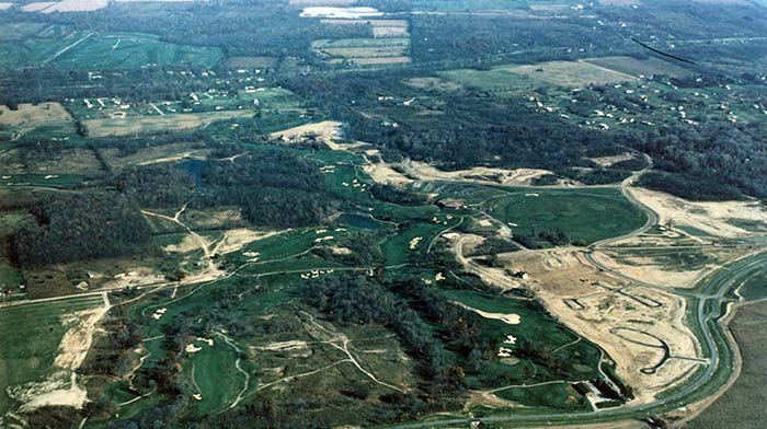 Muirfield Village construction